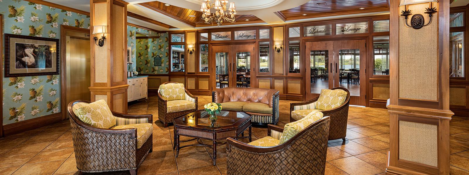 Waterfront Inn Lobby